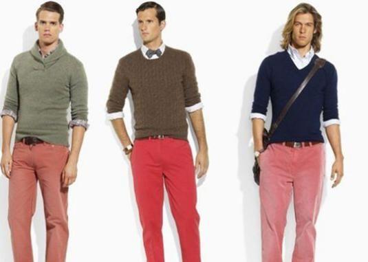 Що з чим носити чоловікам?