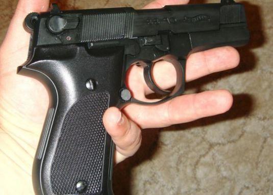 Як пістолет стріляє?