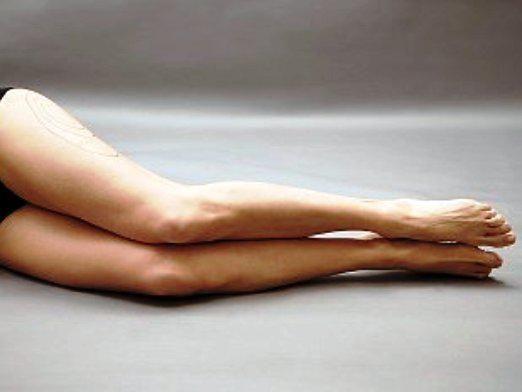 Як прибрати жир з ніг?