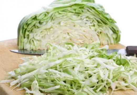 Скільки калорій в капусті?